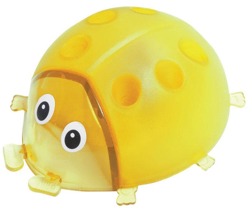 Пифагор Точилка Божья коровка с контейнером цвет желтый222497Точилка Пифагор Божья коровка с контейнером предназначена для затачивания деревянных и пластиковых карандашей.Качественное стальное лезвие обеспечивает легкое, равномерное затачивание карандашей. Контейнер для стружки изготовлен из цветного пластика. Отверстия на корпусе служат для хранения карандашей, ручек.