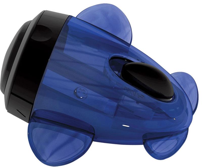 Brauberg Точилка Jet с контейнером223591Точилка Brauberg Jet с контейнером для чернографитных и цветных карандашей. Имеет 3 режима заточки грифеля. Качественное стальное лезвие обеспечивает лёгкое и равномерное затачивание. Корпус изготовлен из тонированного цветного пластика. Оригинальная форма в виде самолета.Уважаемые клиенты! Обращаем ваше внимание на цветовой ассортимент товара. Поставка осуществляется в зависимости от наличия на складе.