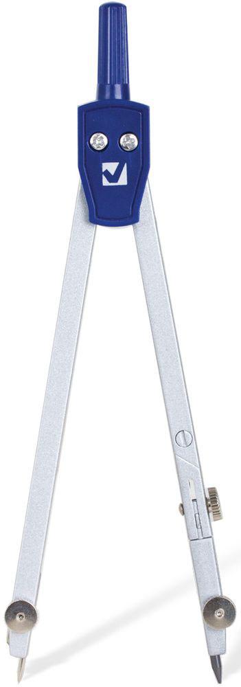 Brauberg Циркуль Student Oxford 14 см210316Качественный металлический циркуль Brauberg предназначен для учеников старших классов и студентов.Циркуль с одной сгибаемой ножкой и подстраиваемой иглой упакован в ПВХ-чехол с подвесом.