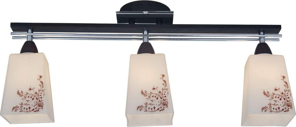 Люстра потолочная Citilux Креол. CL145131CL145131Одним из главных инструментов для создания грамотного светового дизайна являются люстра. Стильная люстра Citilux Креол обладает прекрасными техническими характеристиками и великолепным внешним видом. Форма и дизайн изделия выполнены в рамках популярного стиля модерн. Конструкция изготовлена из материалов высокой прочности: плафон - из стекла, корпус - из металла и дерева.Использовать данную люстру рекомендуется в гостиной, кафе или спальне с соответствующим дизайну изделия интерьером. Стильное и долговечное исполнение Citilux Креол поможет создать в вашем доме уютный уголок, в котором можно с комфортом заниматься любимым делом или продуктивно работать.