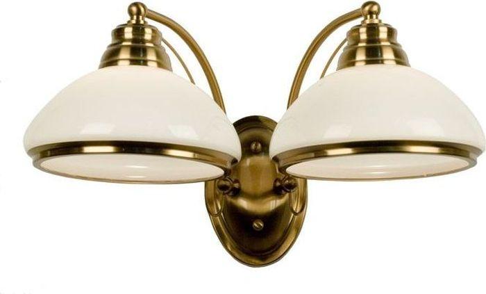 Бра Citilux Краков, 2 х E27, 75W. CL401323CL401323Бра Citilux Краков позволит успешно организовать световое пространство интерьера, подчеркнуть его достоинства, расставить яркие акценты. Светильник выполнен в достаточно универсальном дизайне, благодаря чему вы можете разместить его в зоне отдыха на кухне, в гостиной или в рабочем кабинете.Компактный и очаровательный прибор идеально подойдет и для прихожей. Он не только осветит и зрительно увеличит площадь, но и организует порядок у входной двери.