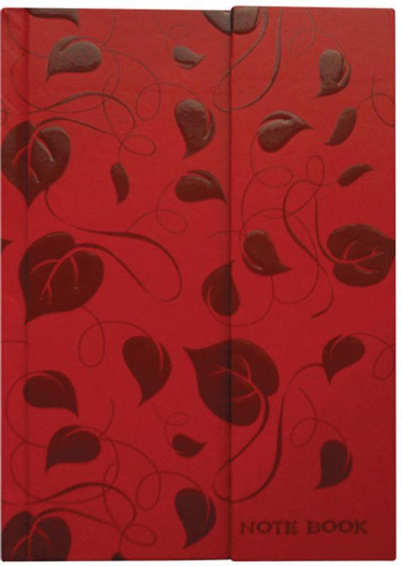 Brauberg Блокнот Tender 80 листов в клетку цвет красный 125732125732Блокнот Brauberg содержит 80 листов кремовой бумаги формата А6 с разметкой в клетку. Дизайн-обложка выполнена в технике нанесения лака на печатный рисунок. Магнитный клапан защитит внутренний блок от повреждений и изящно дополнит общий образ.