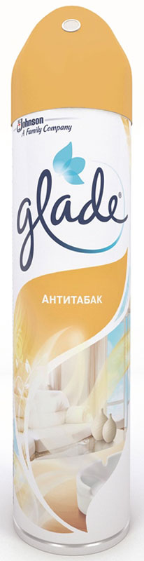 Освежитель воздуха Glade Антитабак, 300 мл. 669141 бытовая химия sunny day антитабак освежитель воздуха 300 мл