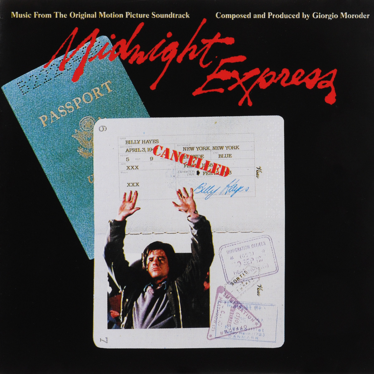 Giorgio Moroder. Midnight Express. Original Motion Picture Soundtrack 10 сумка для ноутбука bagspace bs 133 10gy серая