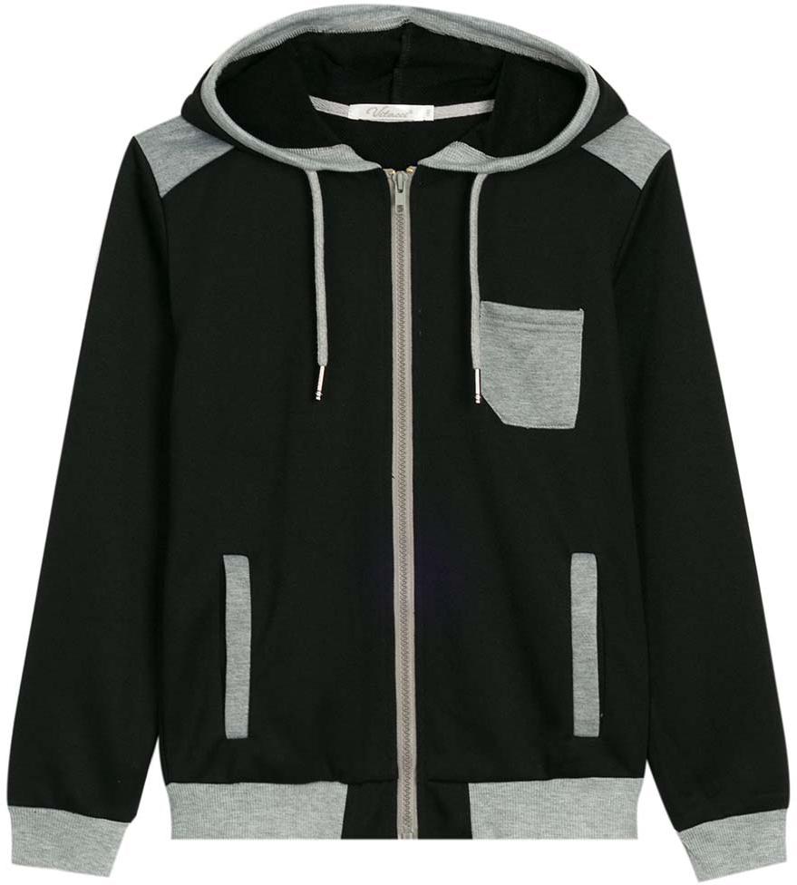 Спортивный костюм для мальчика Vitacci, цвет: черный. 1173036-03. Размер 1521173036-03Спортивный костюм для мальчика выполнен из хлопка и полиэстера.Толстовка с капюшоном и длинными рукавами застегивается на пластиковую молнию. Манжеты и низ модели выполнены из трикотажной резинки.Спортивные брюки в поясе имеют эластичную резинку.