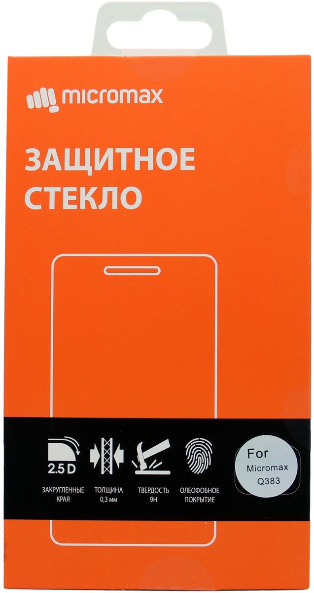 Micromax защитное стекло для Q3834897044302568
