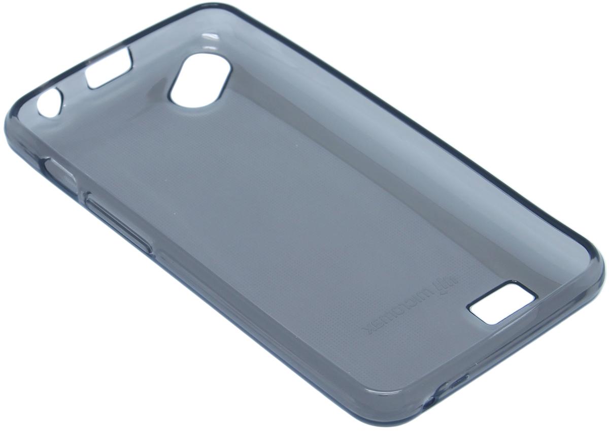 Micromax силиконовый чехол для Q301, Grey6949312318011