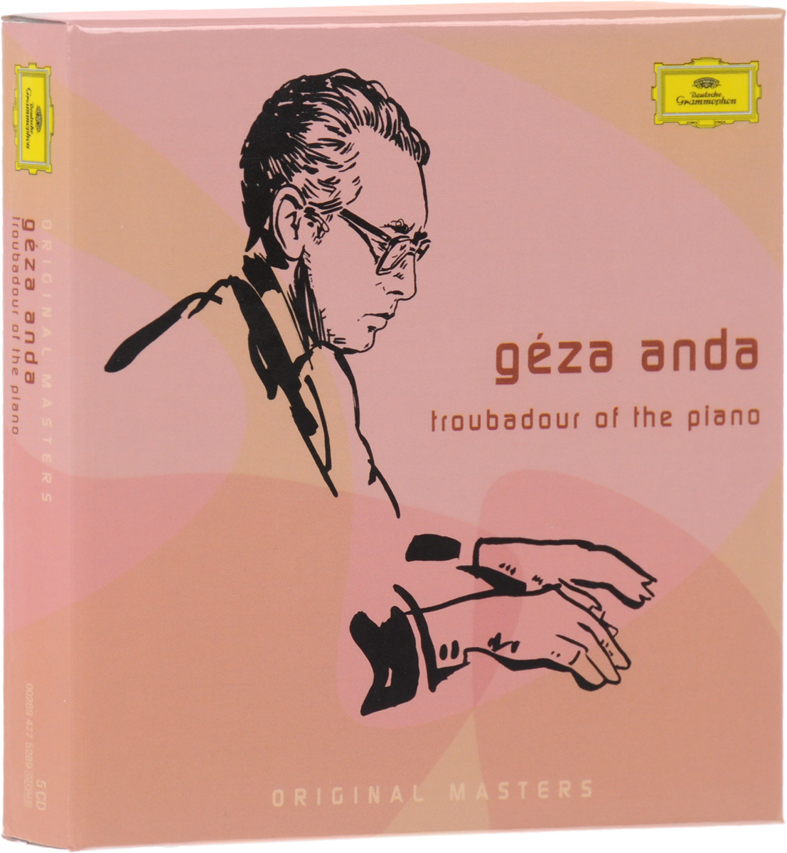 Geza Anda. Troubadour Of The Piano (5 CD)