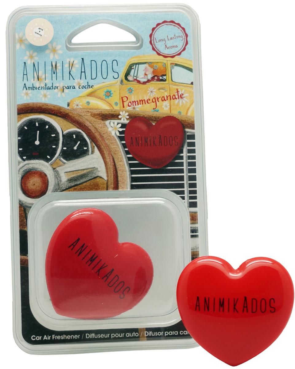 Ароматизатор автомобильный Ambientair HeartGE004GCAMСимпатичный диффузор в виде сердца украсит салон любого автомобиля. Аромат граната, смешанный с нежными розами и грейпфрутом, напоминает о любви, доброте и простой человеческой сердечности. Второй такой же вариант можно подарить своей половинке, чтобы сохранить приятные воспоминания о счастливых минутах.Диффузор упакован в красивую коробку. Одним движением фиксируется к вентиляционным каналам и сразу же начинает источать изысканный аромат.