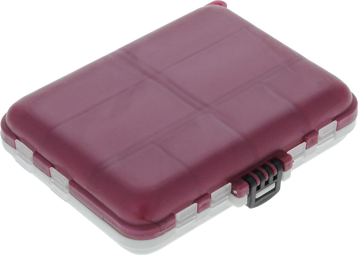 Органайзер для мелочей, 16 ячеек 120х100х30 мм(розовый)