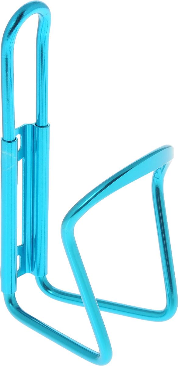 Флягодержатель Larsen, цвет: синийH20BHАлюминиевый флягодержатель Larsen, способный удерживать не только велофлягу, но и обычные пластиковые бутылки, закрепляется на раме велосипеда. Это незаменимая вещь для спортсменов и любителей длительных велосипедных прогулок. Благодаря держателю, фляга с водой будет у вас всегда под рукой.Держатель подходит для бутылок объемом от 0,5 л до 1 л и диаметром 6-10 см.