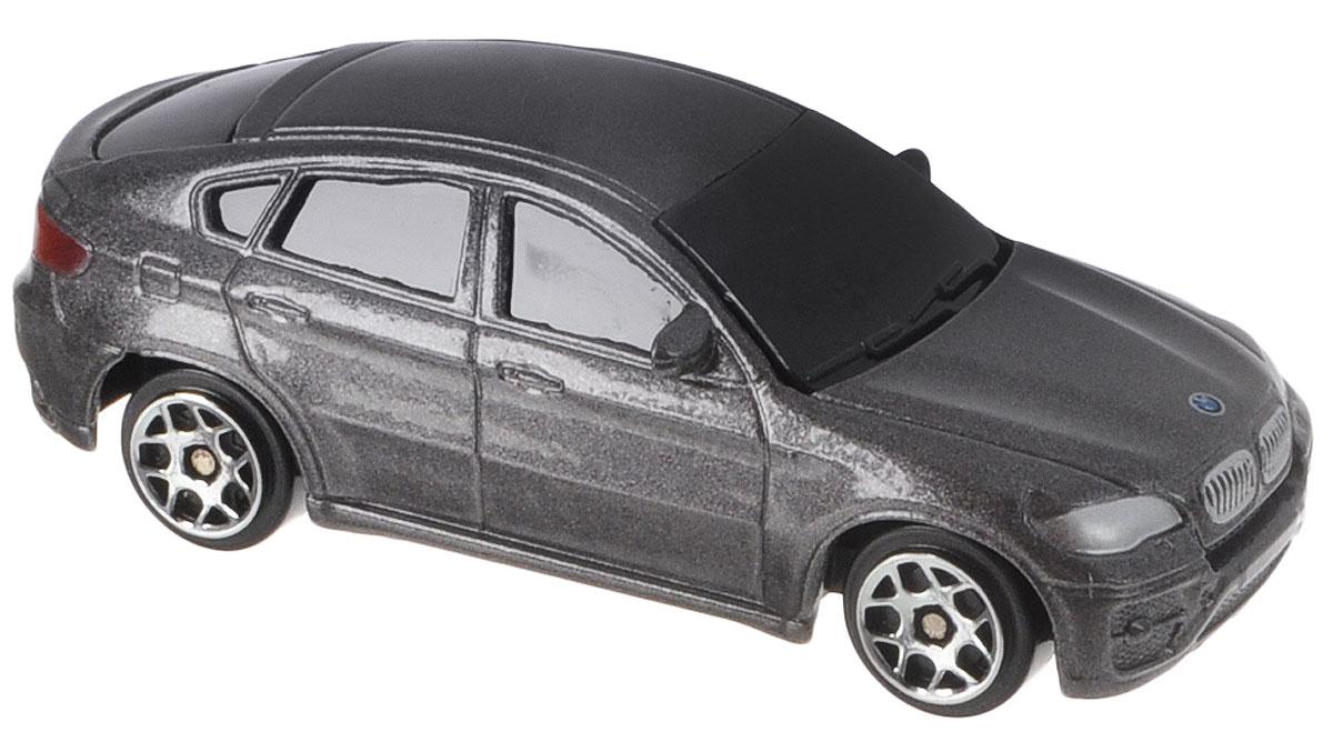 Uni-Fortune Toys Модель автомобиля BMW X6 цвет серый