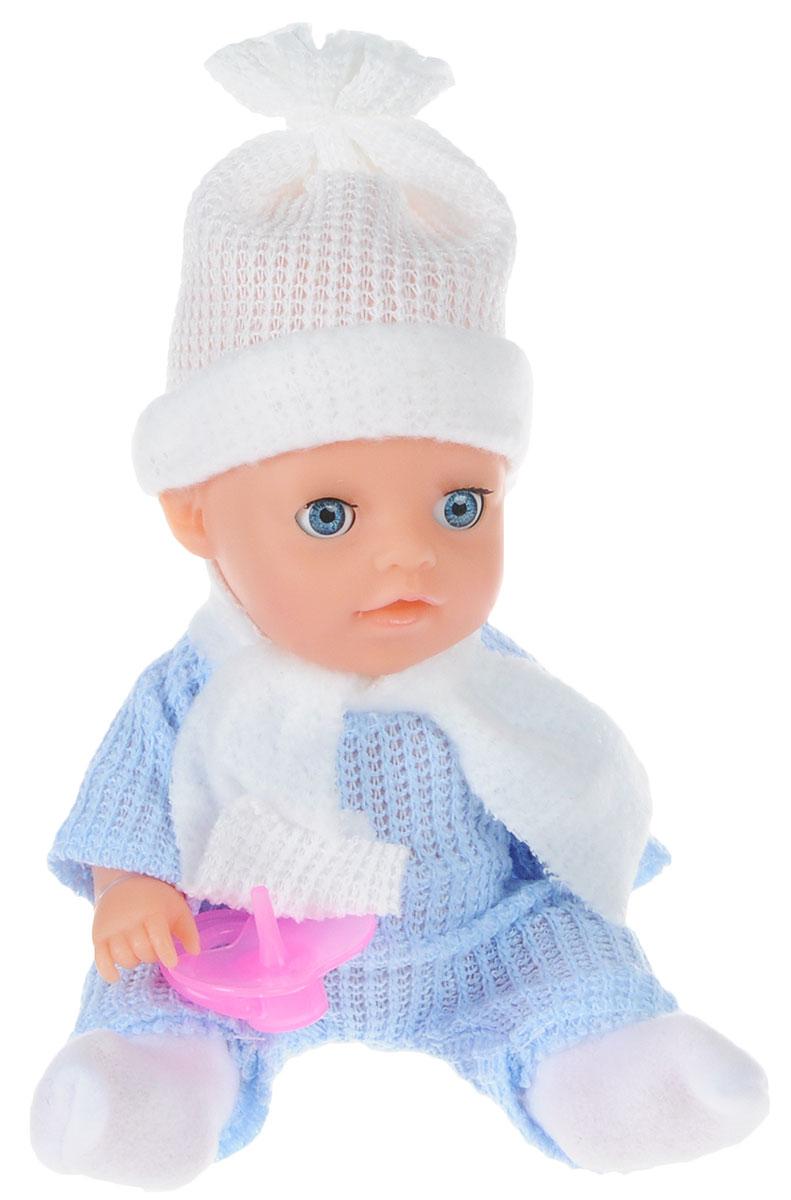 Карапуз Пупс цвет одежды голубой белый весна пупс карапуз цвет одежды фиолетовый