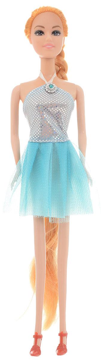 Junfa Toys Кукла Anita Fashionistas цвет платья голубой серебристый