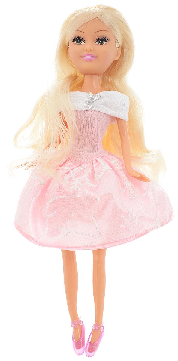 Funville Кукла Зимняя принцесса цвет платья розовый