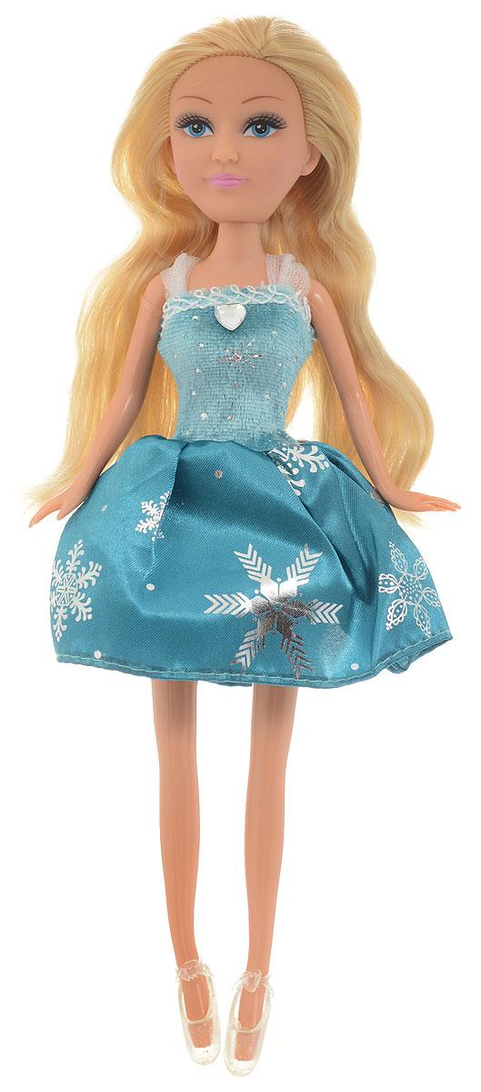 Funville Кукла Зимняя принцесса цвет платья бирюзовый кукла funville модница 20 см 240105