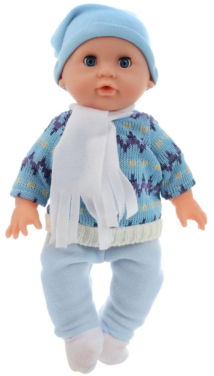 Junfa Toys Пупс цвет одежды голубой