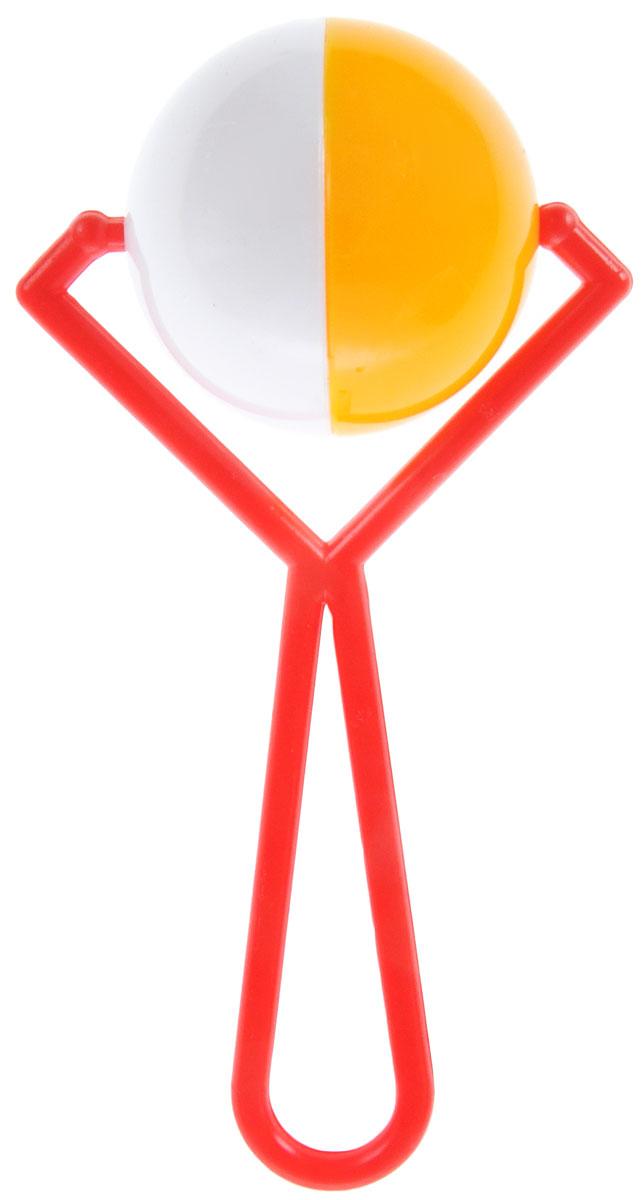Аэлита Погремушка Вертушка цвет красный белый желтый