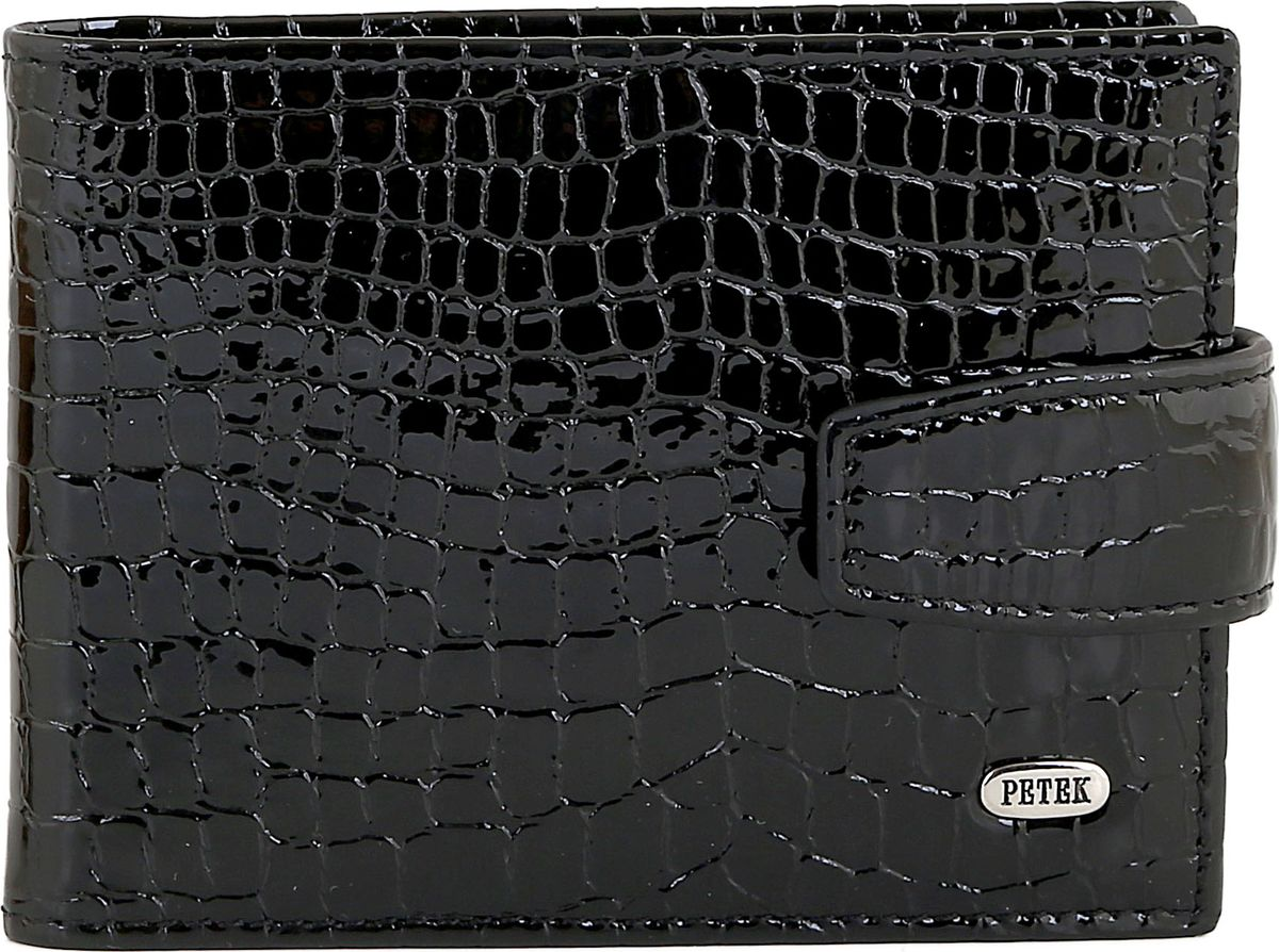 Визитница Petek 1855, цвет: черный. 1014.091.01