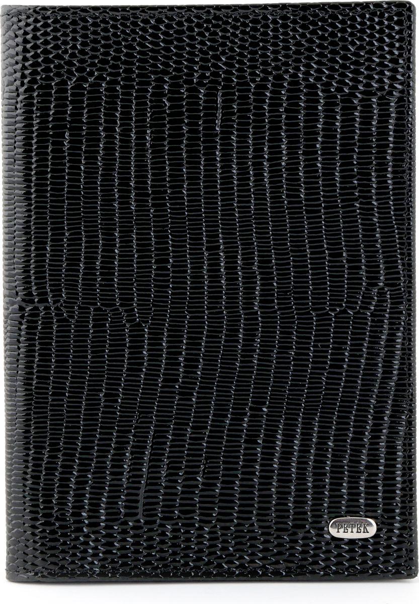 Обложка на паспорт Petek 581.173.01 Black581.173.01 BlackОбложка на паспорт из натуральной кожи. Элегантный и утонченный аксессуар.