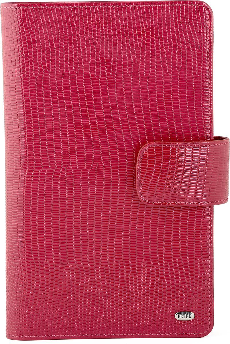 Визитница Petek 1855, цвет: красный. 1083.173.10