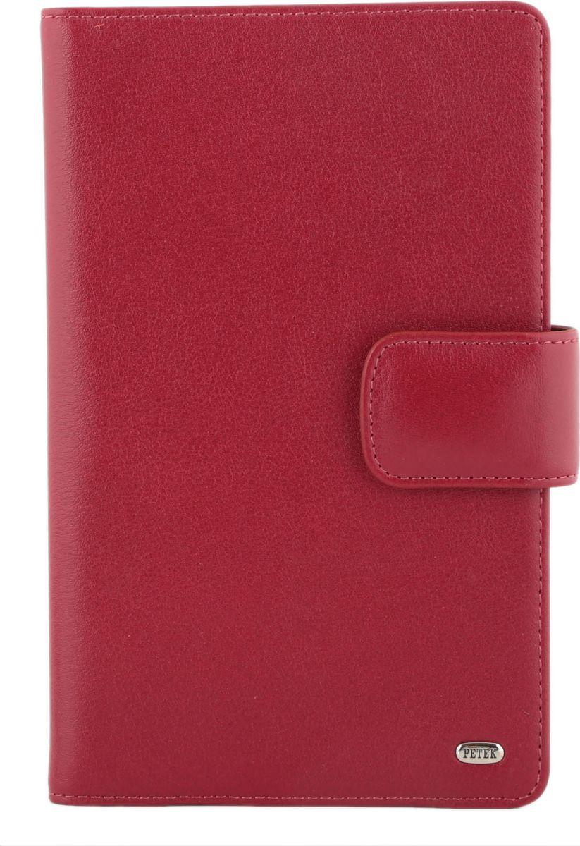 Визитница Petek 1855, цвет: красный. 1083.4000.10