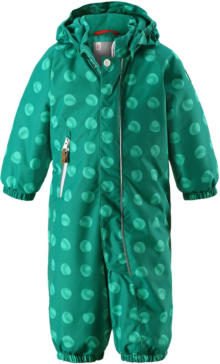 Комбинезон детский Reima Reimatec Puhuri, цвет: зеленый. 5102628868. Размер 92