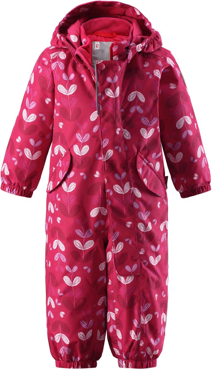 Комбинезон детский Reima Reimatec Puna, цвет: розовый. 5102643561. Размер 92