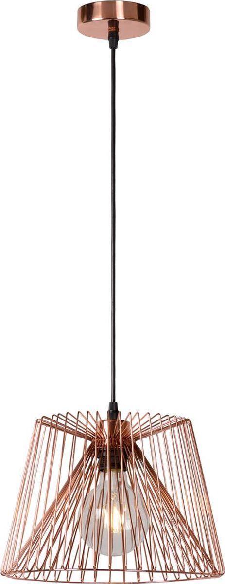 Светильник подвесной Lucide Vinti, цвет: медь, E27, 60 Вт. 02401/28/1702401/28/17