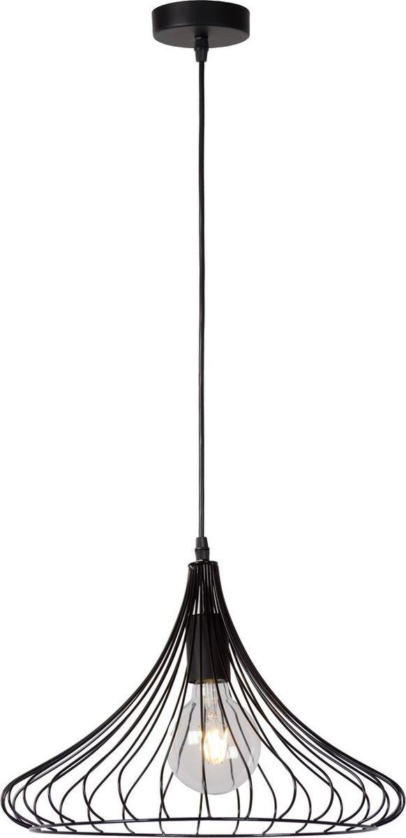 Светильник подвесной Lucide Vinti, цвет: черный, E27, 60 Вт. 02402/40/3002402/40/30