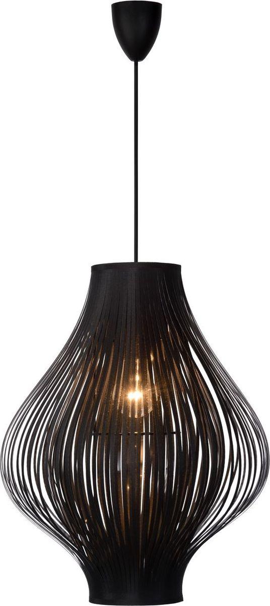 Светильник подвесной Lucide Poli, цвет: черный, E27, 60 Вт. 06408/01/3006408/01/30