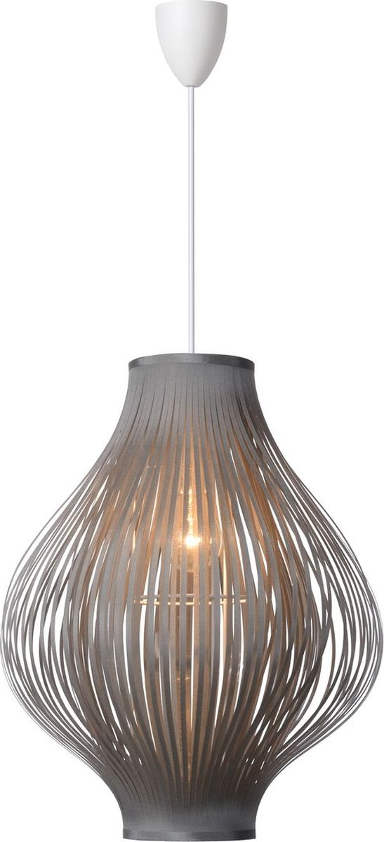 Светильник подвесной Lucide Poli, цвет: серый, E27, 60 Вт. 06408/01/3606408/01/36