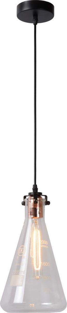 Светильник подвесной Lucide Vitri, цвет: прозрачный, E27, 60 Вт. 08413/01/6008413/01/60