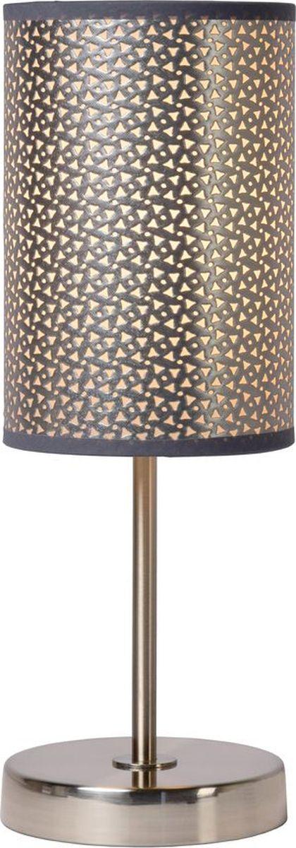 Лампа настольная Lucide Moda, цвет: серый, E27, 60 Вт. 08500/81/3608500/81/36