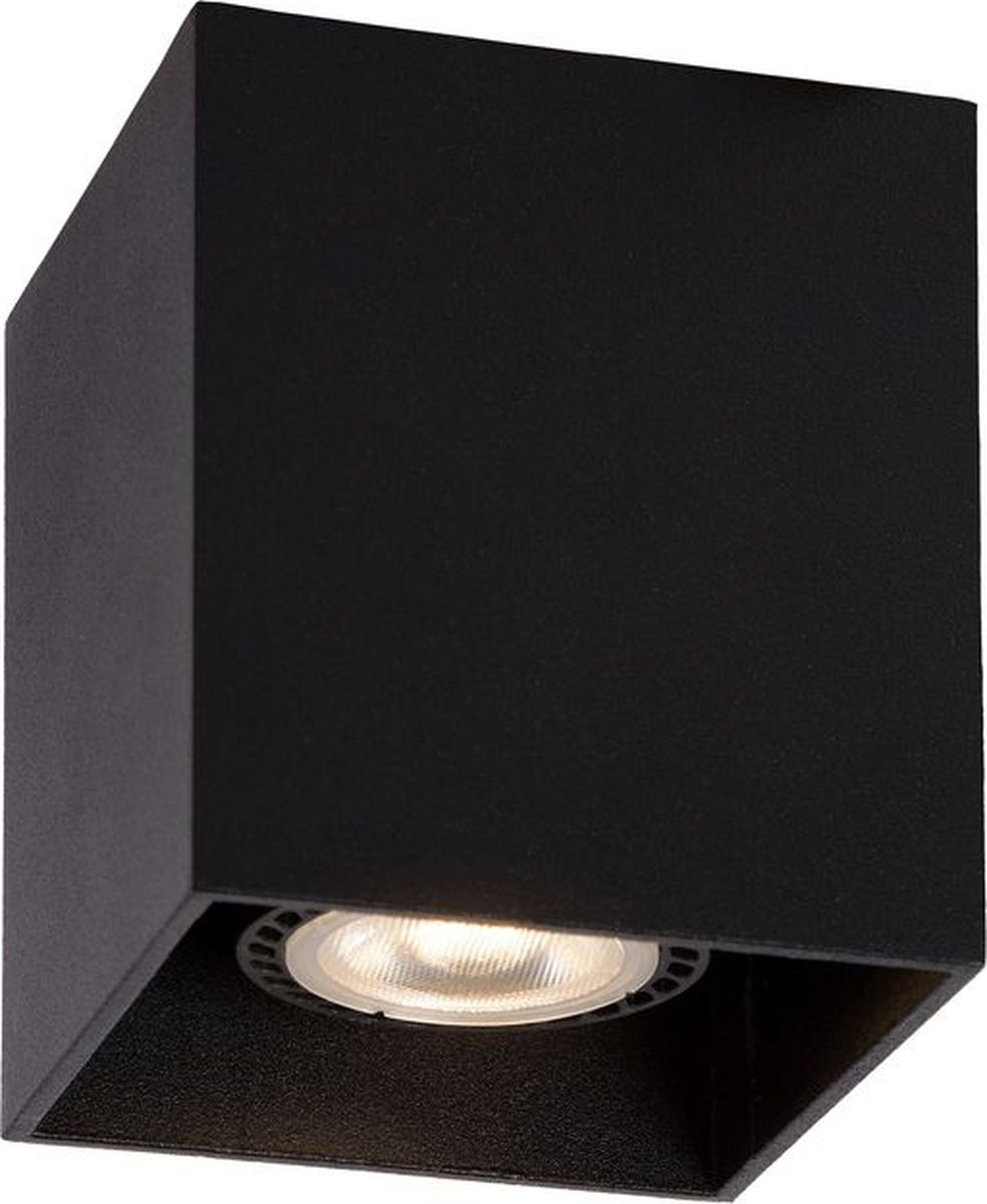 Светильник потолочный Lucide Bodi, цвет: черный, GU10, 50 Вт. 09101/01/3009101/01/30