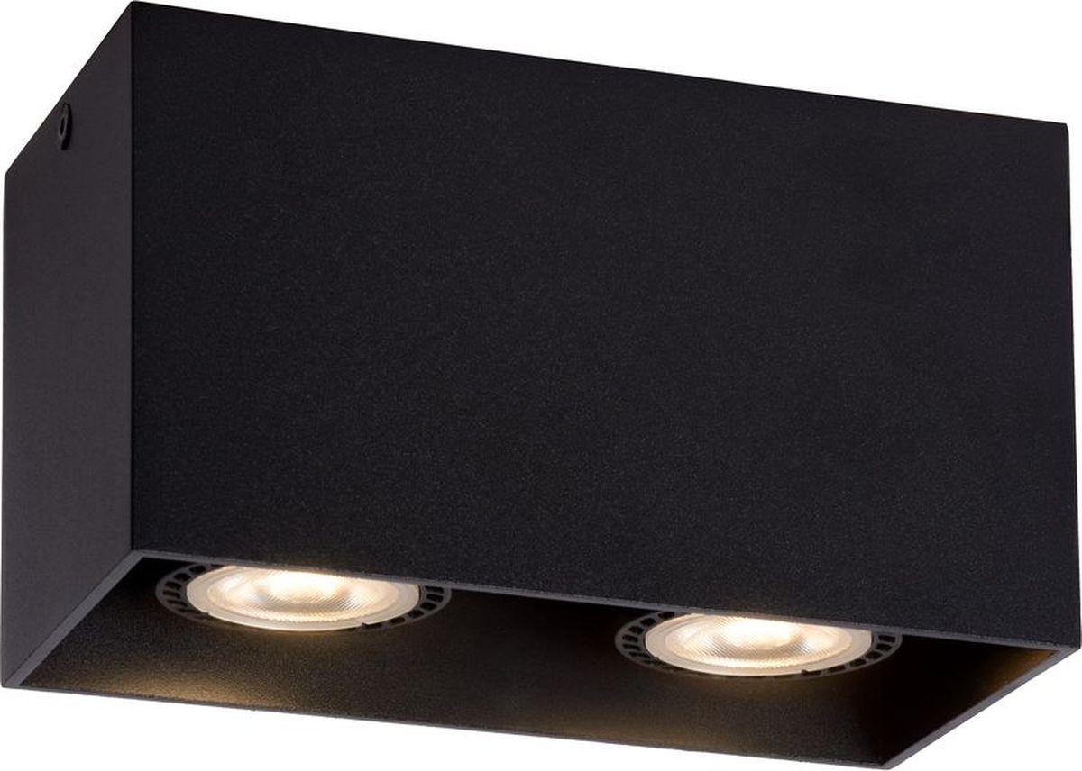 Светильник потолочный Lucide Bodi, цвет: черный, GU10, 50 Вт. 09101/02/3009101/02/30
