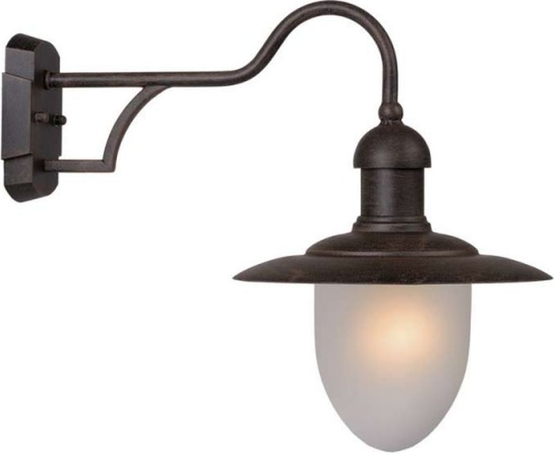 Светильник уличный настенный Lucide Aruba, цвет: белый, E27, 35 Вт. 11871/01/9711871/01/97