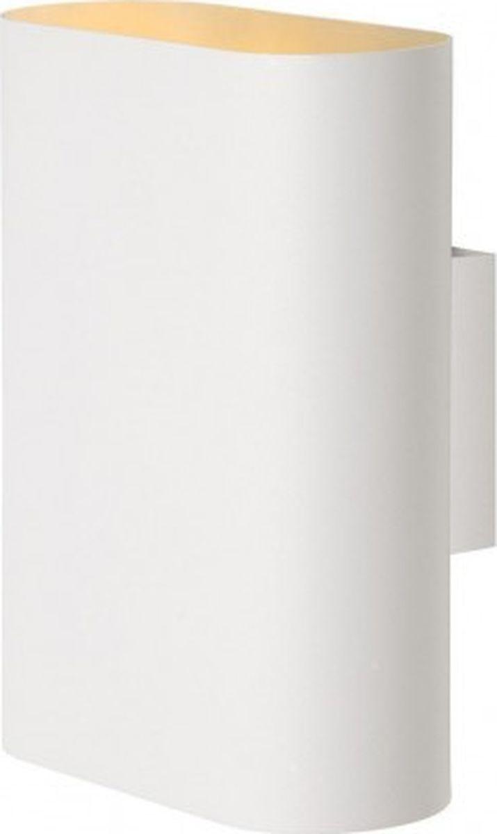 Светильник настенный Lucide Ovalis, цвет: белый, E14, 9 Вт. 12219/02/3112219/02/31