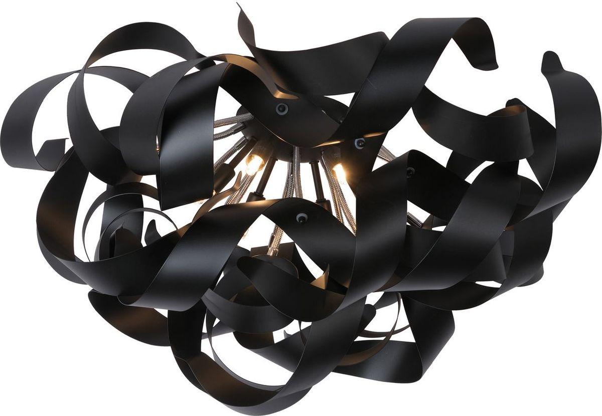 Люстра потолочная Lucide Atoma, цвет: черный, G9, 28 Вт. 13110/26/3013110/26/30