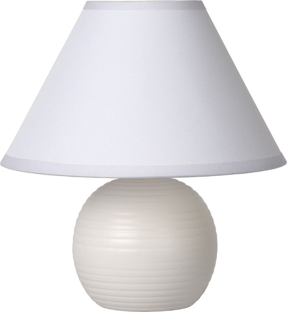 Лампа настольная Lucide Kaddy, цвет: белый, E14, 9 Вт. 14550/81/3114550/81/31