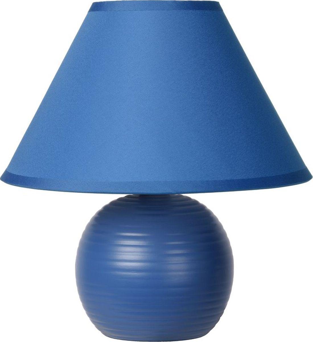 Лампа настольная Lucide Kaddy, цвет: синий, E14, 9 Вт. 14550/81/3514550/81/35