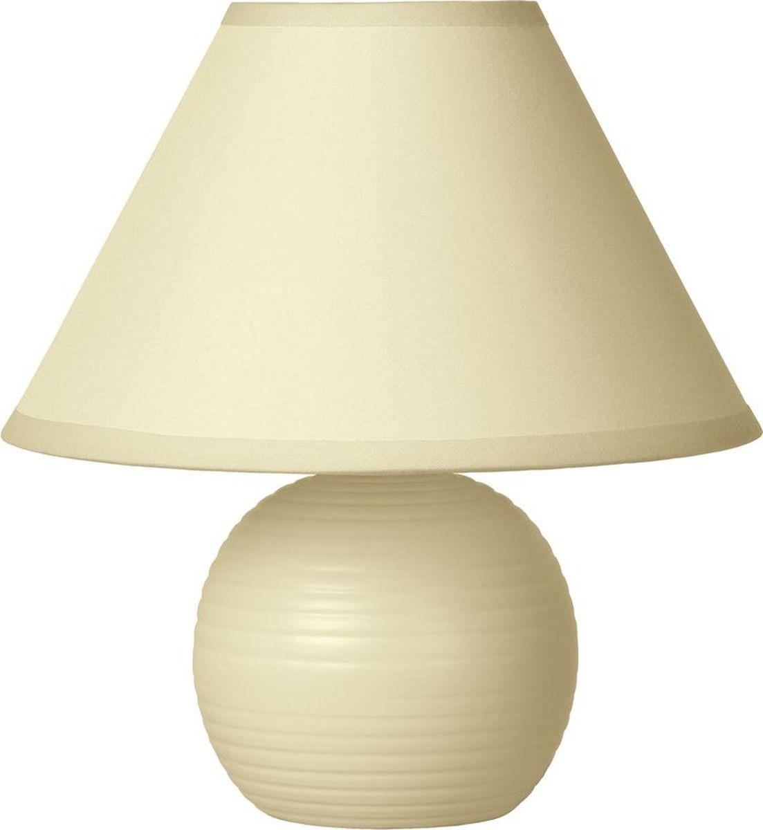 Лампа настольная Lucide Kaddy, цвет: бежевый, E14, 9 Вт. 14550/81/3814550/81/38