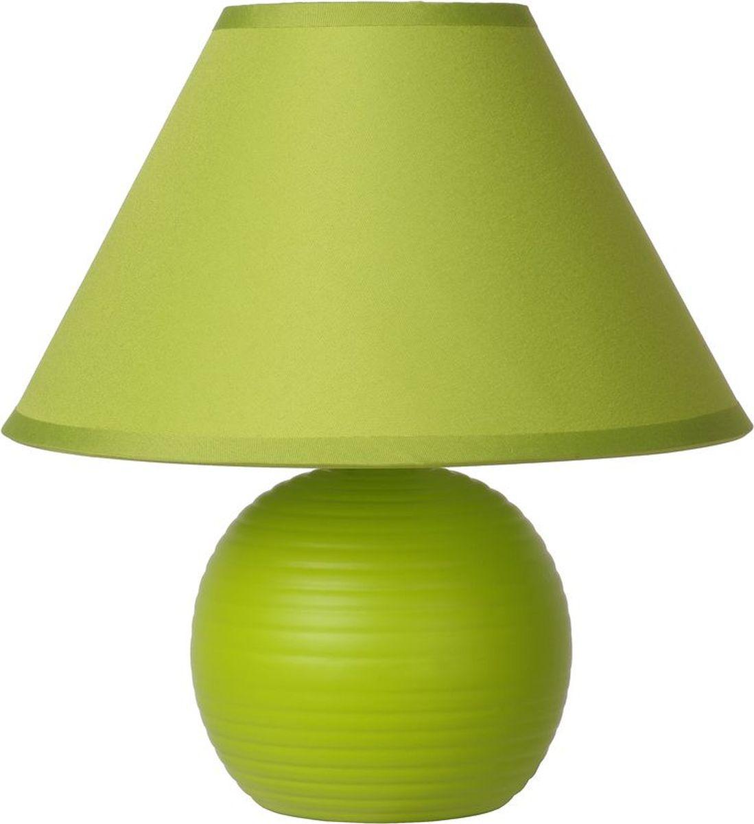 Лампа настольная Lucide Kaddy, цвет: зеленый, E14, 1 Вт. 14550/81/8514550/81/85