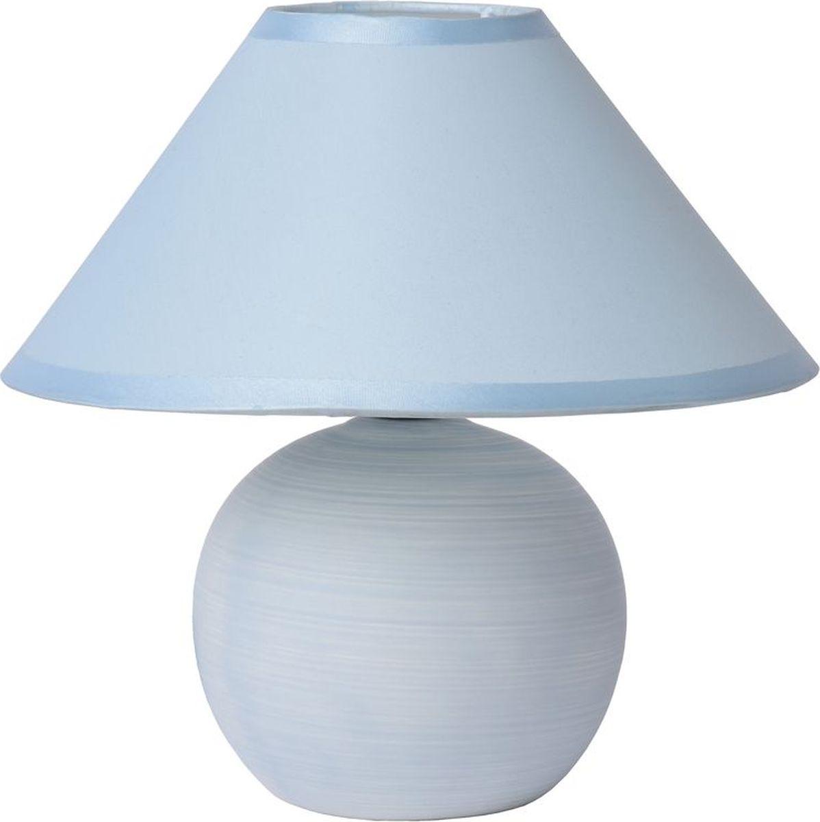 Лампа настольная Lucide Faro, цвет: голубой, E14, 40 Вт. 14552/81/3514552/81/35