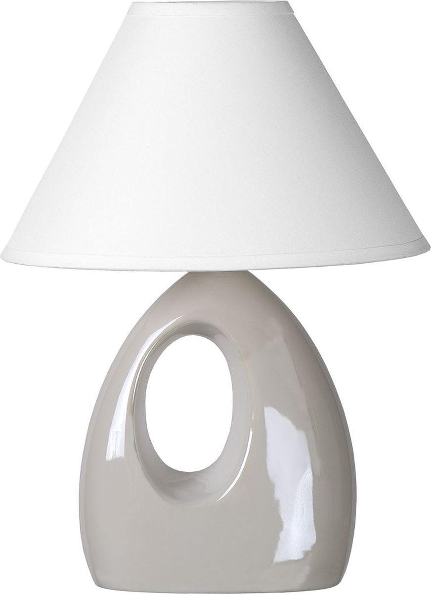 Лампа настольная Lucide Hoal, цвет: белый, E14, 40 Вт. 14558/81/3114558/81/31