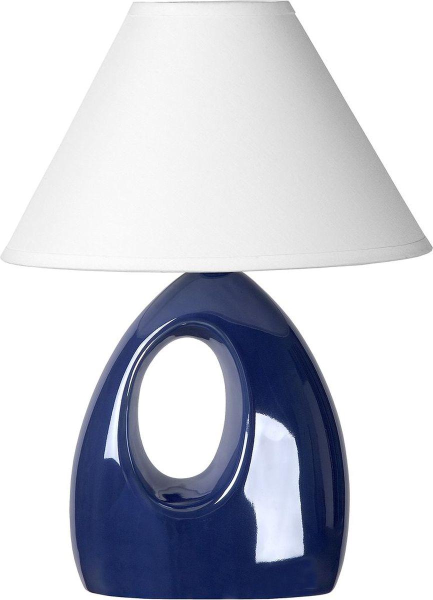 Лампа настольная Lucide Hoal, цвет: белый, E14, 40 Вт. 14558/81/3514558/81/35