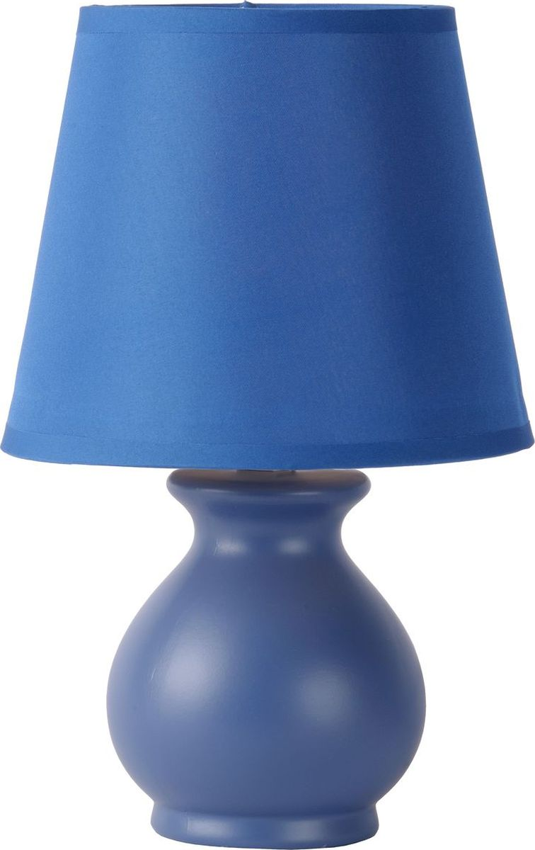 Лампа настольная Lucide Mia, цвет: синий, E14, 40 Вт. 14561/81/3514561/81/35