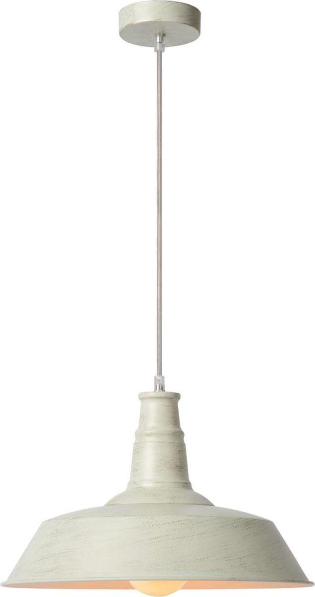 Светильник подвесной Lucide Baron, цвет: белый, E27, 60 Вт. 15370/36/2115370/36/21