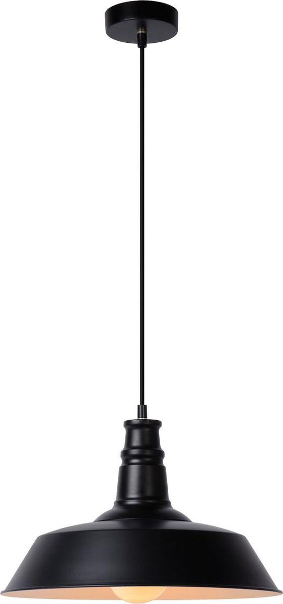 Светильник подвесной Lucide Baron, цвет: черный, E27, 60 Вт. 15370/36/3015370/36/30