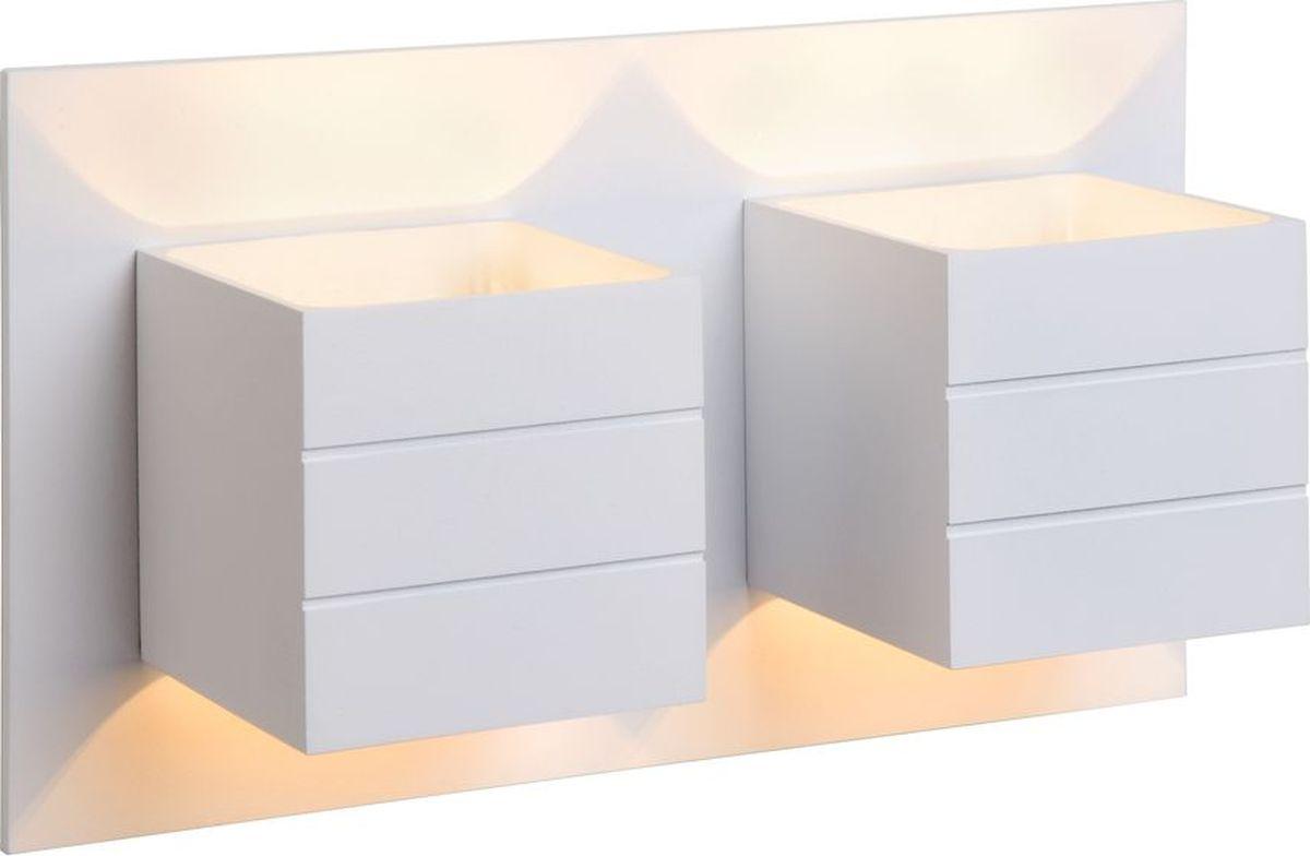 Светильник настенный Lucide Bok, цвет: белый, G9, 100 Вт. 17282/02/3117282/02/31